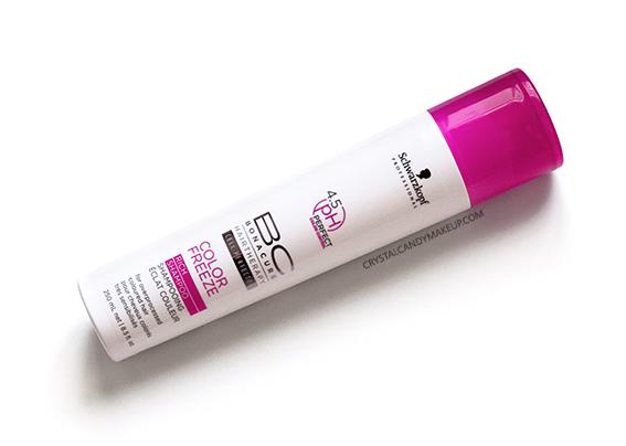 Schwarzkopf Professional BC Color Freeze Rich Shampoo Review