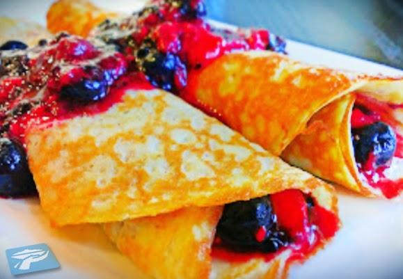 hari ini bunda ingin berbagi resep makanan french crepes cake yang mulanya makanan ini ti Resep Makanan French Crepes Cake