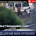 Urban savages attack ice cream man