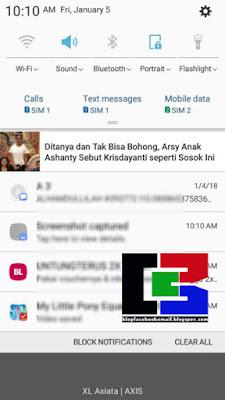 cara menghilangkan notifikasi iklan di UCbrowser