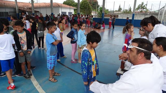 Campanha 3 bichos envolve todas as escolas municipais de Jacupiranga