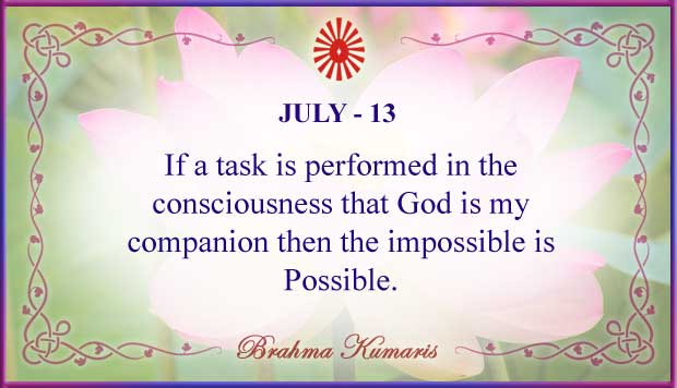 Thought For The Day July 13