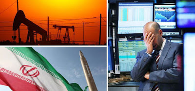 Oil prices down