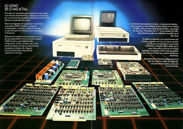 Descubre gracias a Retrolaser los secretos del Cedar Computer, el ordenador profesional de EFO SA