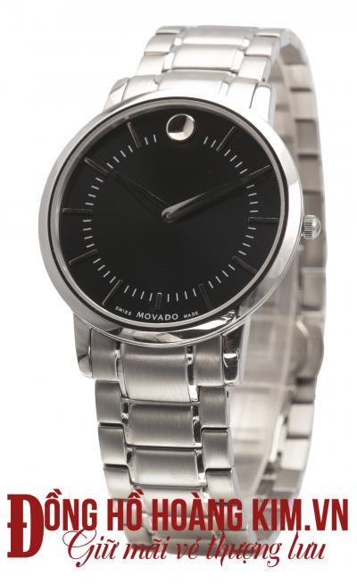 Đồng hồ movado nam dây sắt giá rẻ nhất