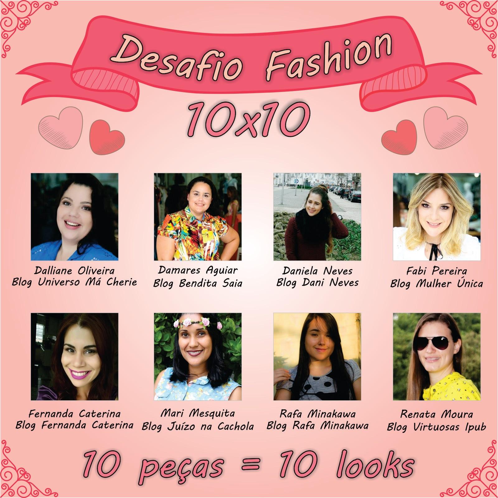 desafio 10x10 4° look blog estilo modas e manias