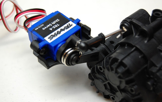 Traxxas TRX-4 shift servo