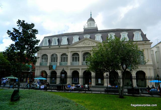 Cabildo de Nova Orleans, no French Quarter
