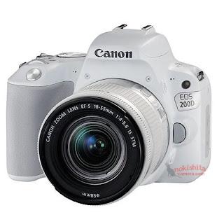 Canon EOS 200D белого цвета
