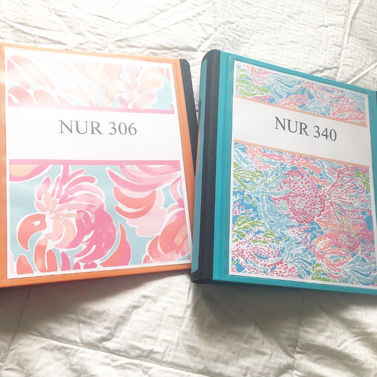 THE FUTURE CRNA: PREPPING FOR SPRING SEMESTER: DIY BINDER