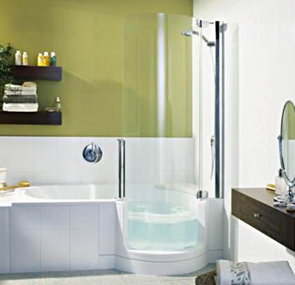 Bathtubs And Showers For Small Bathrooms 3