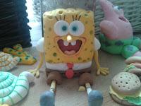 sponge bob fondant