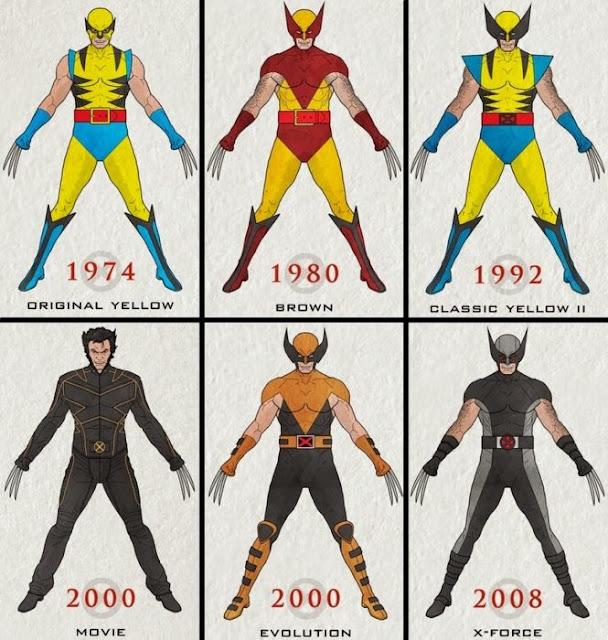 Wolverine cumple 42 años y te mostramos su evolución