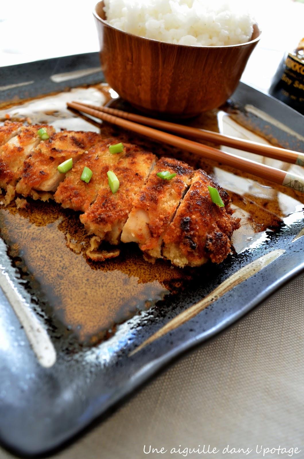 Une Aiguille Dans L Potage Torikatsu Poulet Pane A La Japonaise