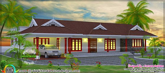 Traditional home design Kerala