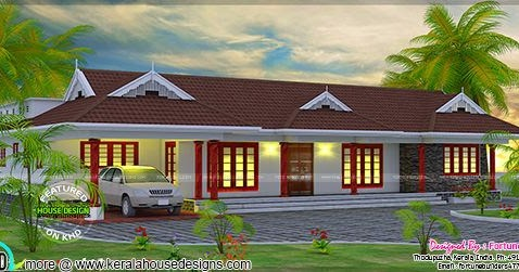 Traditional Home In 2200 Sq Ft Kerala Home Design And Floor Plans