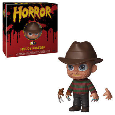 Horror 5 Star! freddy kruger