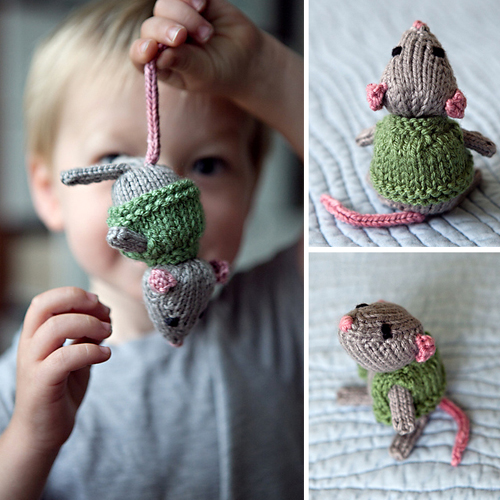 Marisol the Knitted Mouse - Free Pattern