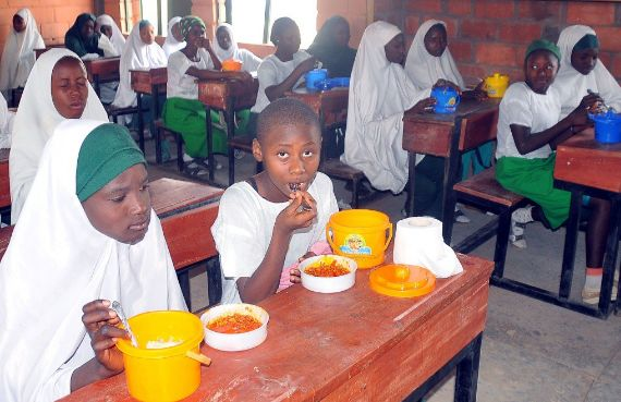 FG Feeding One Hot Meal A Day To Over One Million Pupils In 7 States