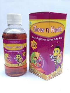 Madu Spesial Penambah Nafsu Makan Dan Kesehatan Anak: Grow And Health