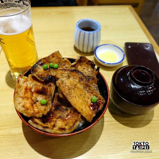 【豚丼Butahage】80年老味道帶廣名物豚丼 車站內的簡單美味