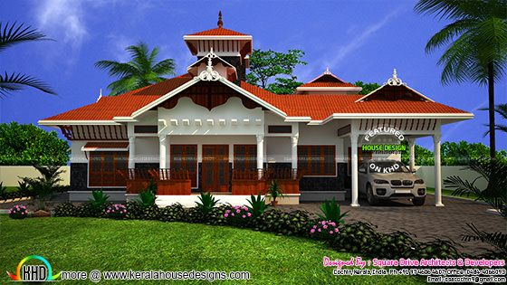 Super beautiful Kerala traditional home