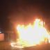 Vizinho do CT do Flamengo filma incêndio