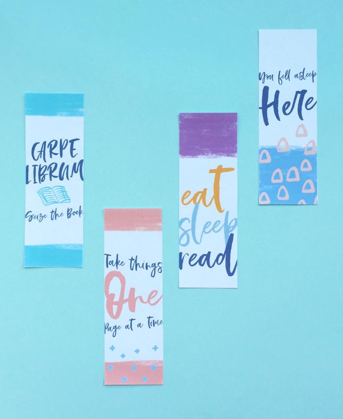 Free printable bookmarks for International Book Day, Sant Jordi Celebration, crafts, diy, do it yourself