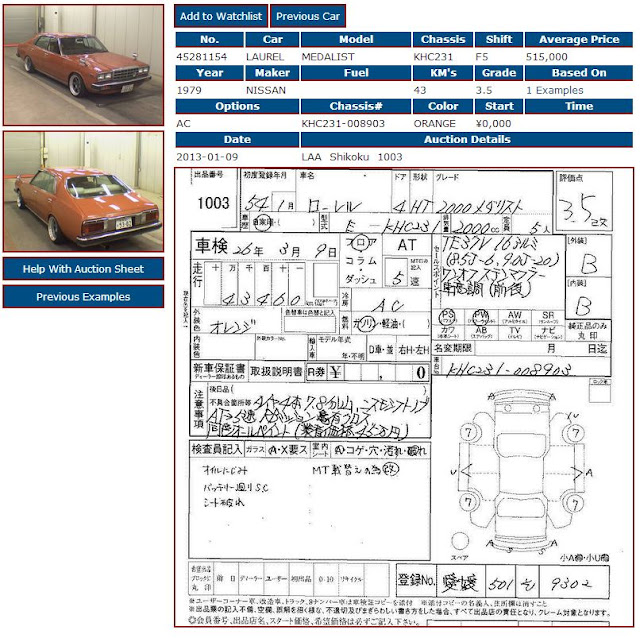 Import A Vehicle : 25 Year Old Car Importation: 1979