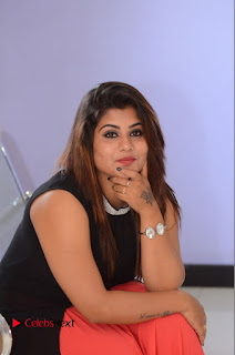 Actress Ankitha Pictures at Akira Movie Trailer Launch 0069