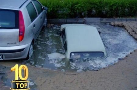 Car Fails Top 10 Compilation 23-12-2016