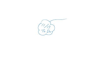 ミニマインドマップ 「11/17 ToDo」 (作: 塚原 美樹) ~ 真ん中から外に向かってかいていく