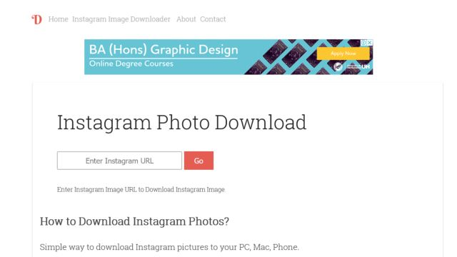 Dinsta - Download Foto dan Video Instagram
