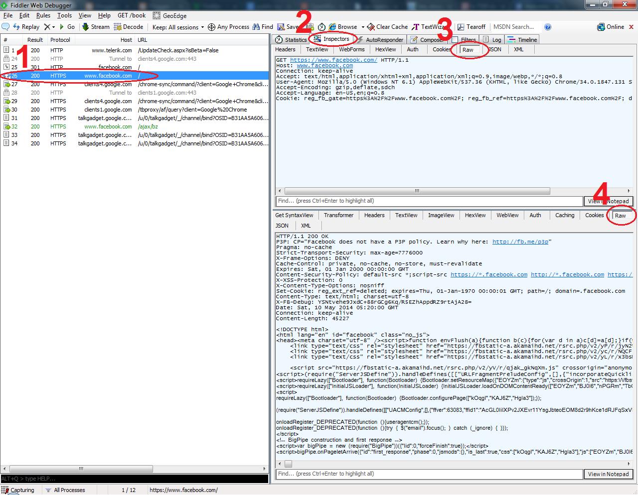 Using Fiddler to Examine Web Traffic | OJ Develops by OJ Raqueño