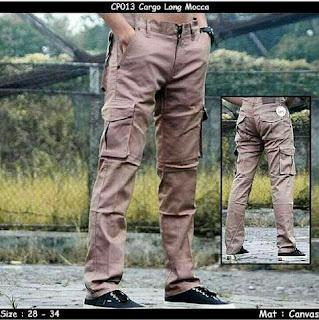 celana cargo, celana cargo pria, celana cargo panjang
