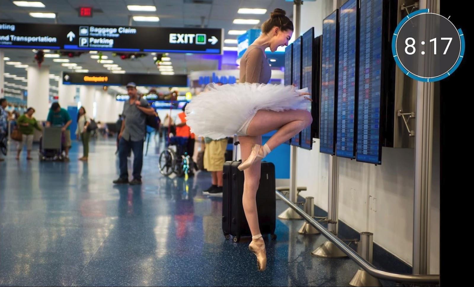 10 Minute Photo Challenge Crashes Miami International Airport by Jordan Matter