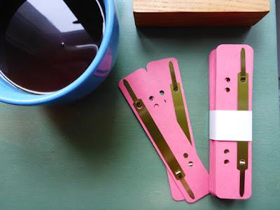 Tee und Aktenheftdingerchen