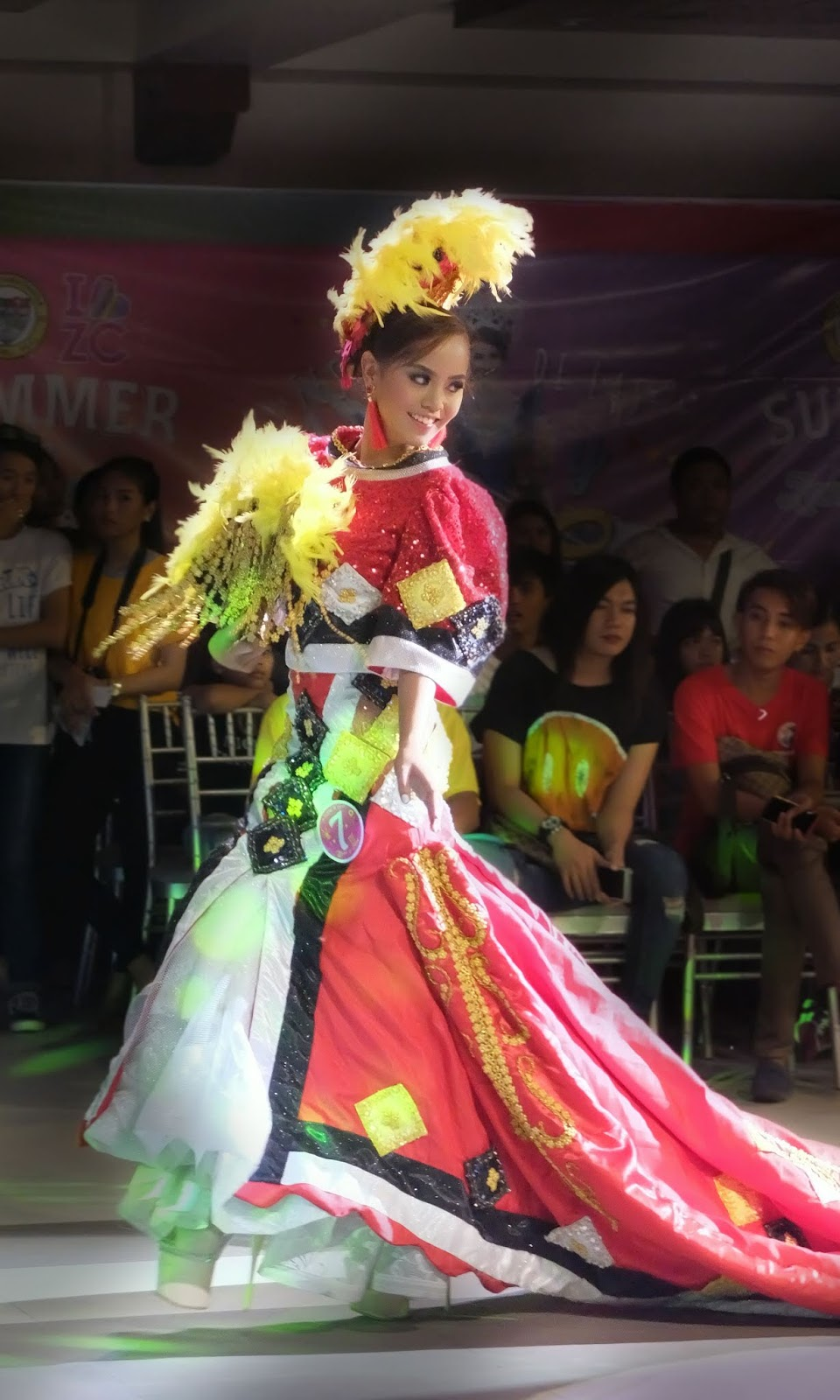 Kaamulan Festival of Malaybalay Bukidnon Manobo Tribe Festival de las Bellas y Flores Gown Competition National Costume