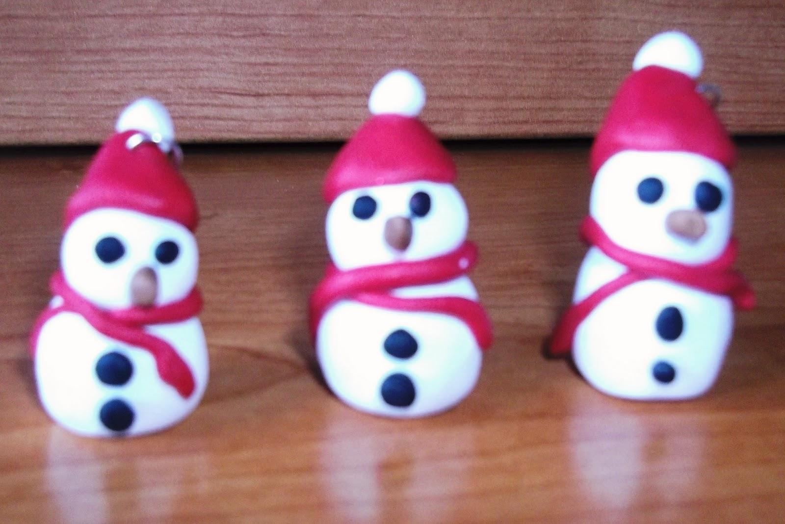Lavoretti Di Natale Con Fimo.La Falegnameria Di Roberto Le Collanine Di Natale In Fimo