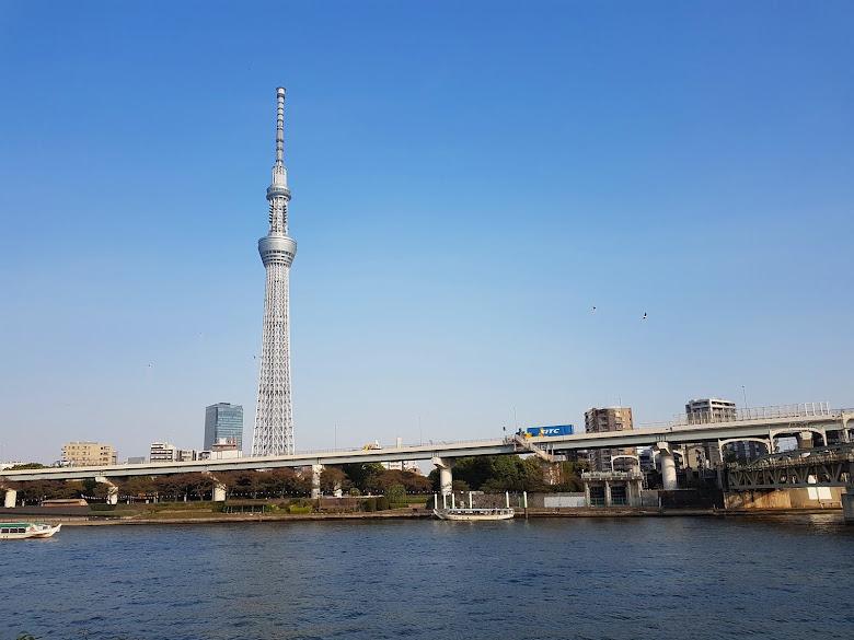 遠處的晴空塔