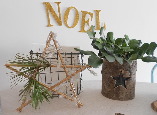 DIY estrella Navidad