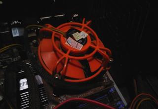 Cara memperbaiki kipas prosesor processor heatsink fan macet rusak