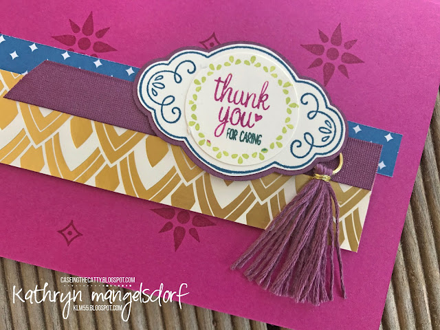 Stampin' Up! Label Me Pretty & Pretty Label Punch, Eastern Beauty created by Kathryn Mangelsdorf