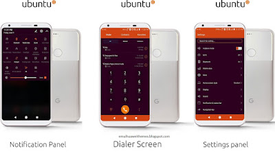 Download Huawei Themes : Ubuntu Theme For EMUI 5