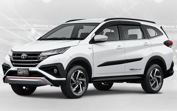 Gambar dan Harga mobil Toyota Rush terbaru 2018 lengkap Spesifikasi