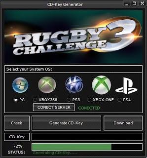 Rugby Challenge 3 Key Generator (Free CD Key)