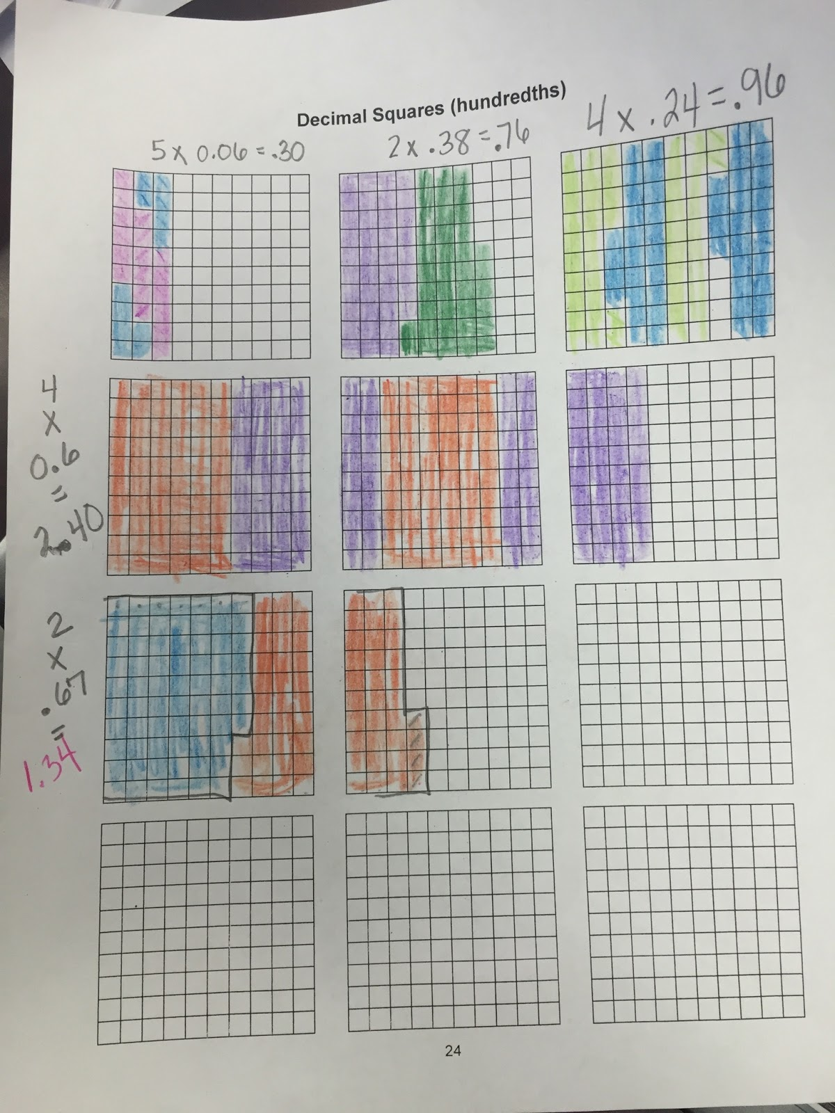 Mrs Grimes Class Multiplying Decimals And Whole Numbers