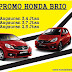 Promo Kredit Akhir Maret Honda Brio Bandung