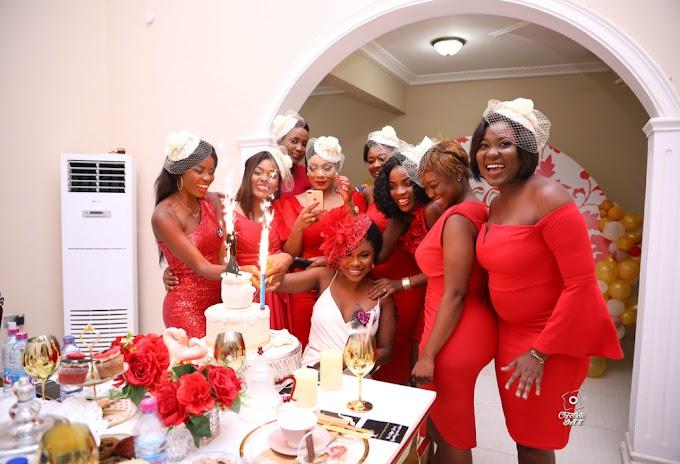 Photos: Becca's friends throw her a Surprise Bridal Shower