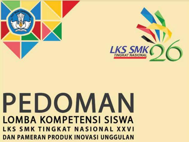 Juknis Lomba Kompetisi Siswa SMK Tahun 2018